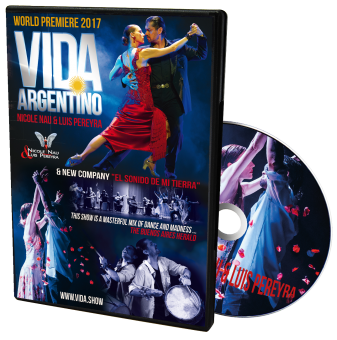 DVD - Vida! Argentino